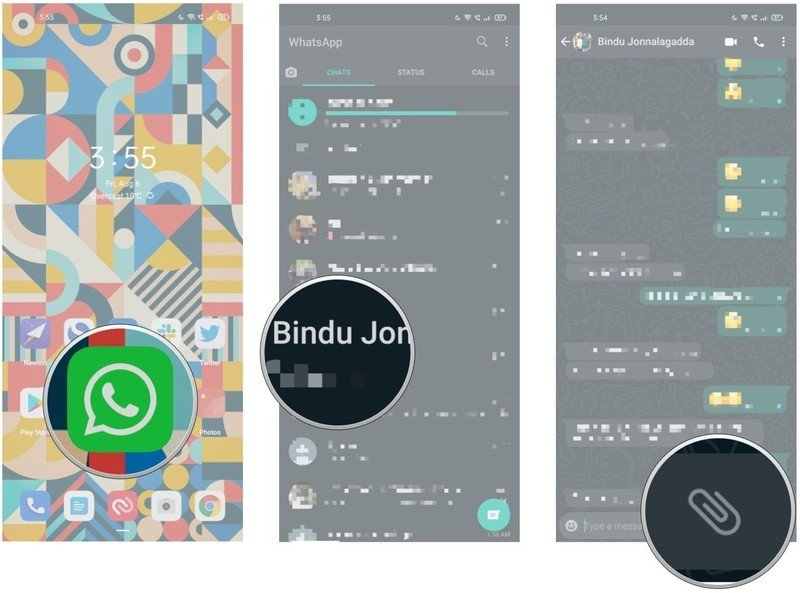 How to send 'View Once' photos in WhatsApp